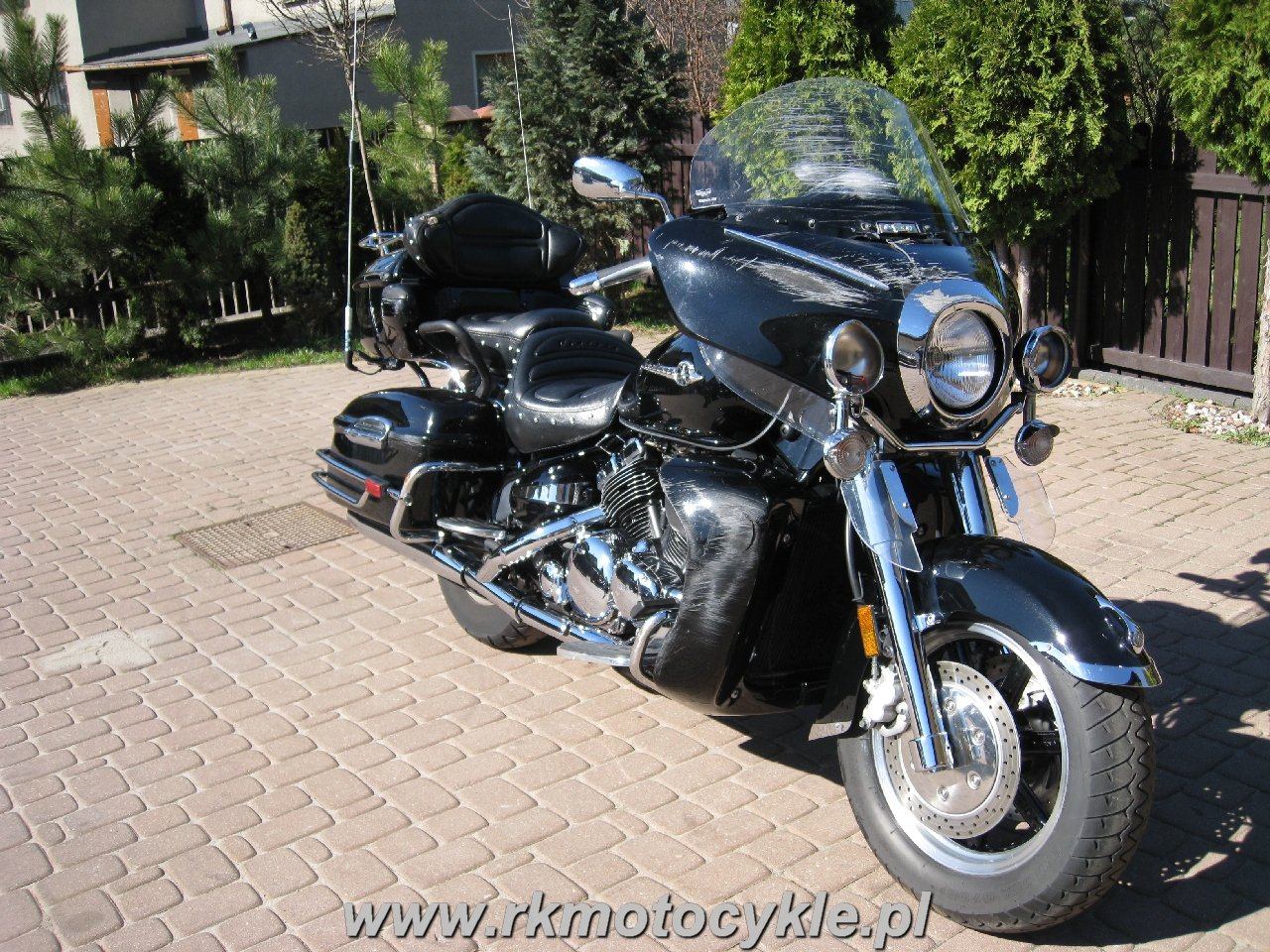Rk Motocykle Yamaha Xvz 1300 Royal Star Midnight Venture