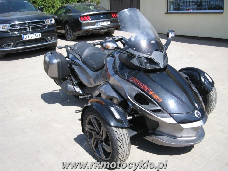 BRP CAN-AM SPYDER RS RSS SM5 - 1