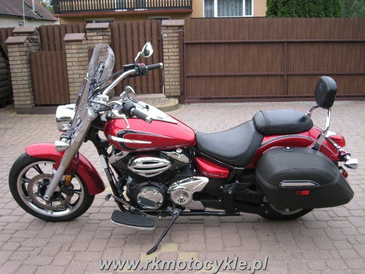 YAMAHA XVS950 MIDNIGHT STAR TOURER XVS 950 V-STAR - 1