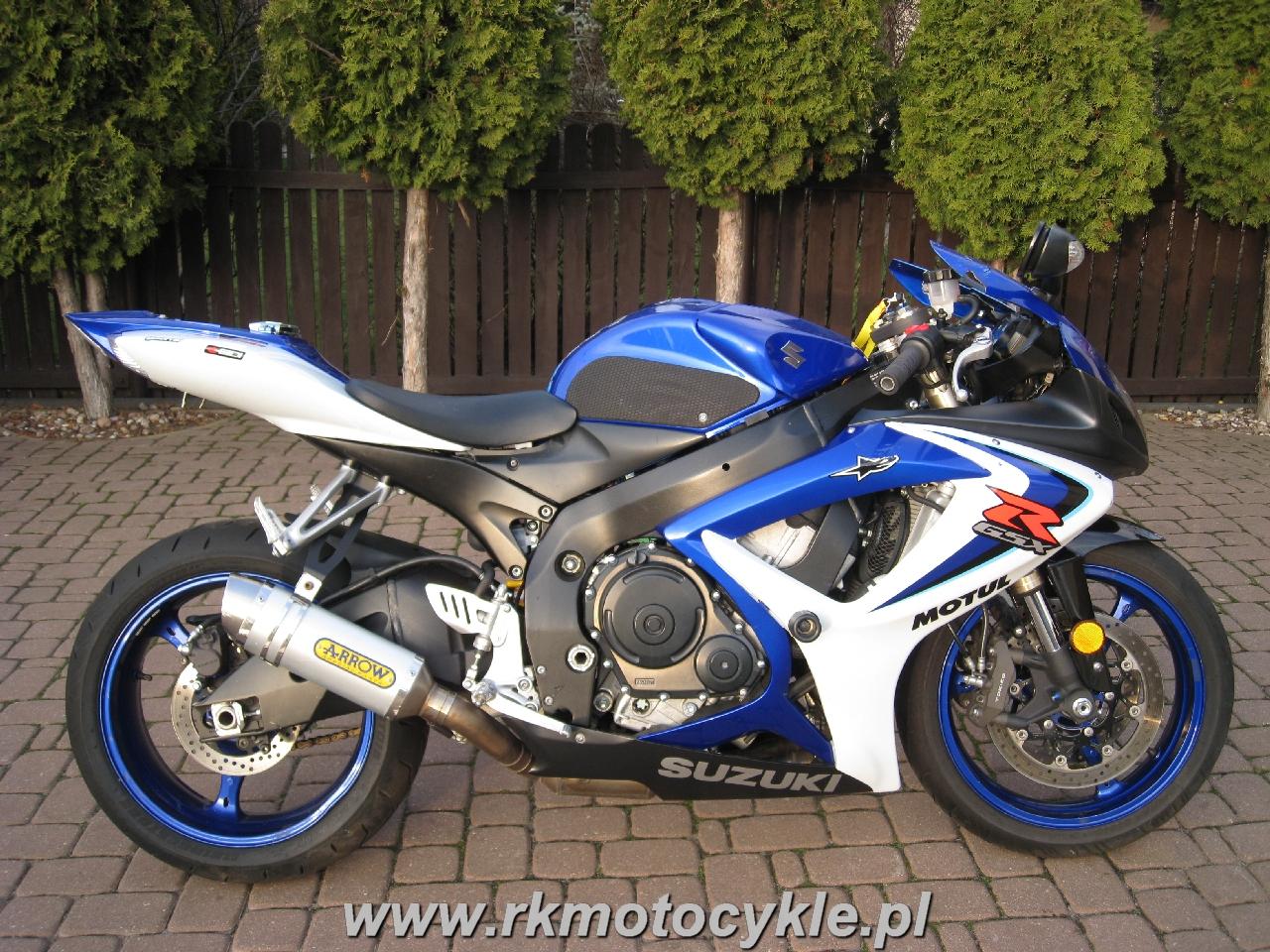 Rk Motocykle Suzuki Gsxr 600 K6 K7 Gsxr600 Gsx R600