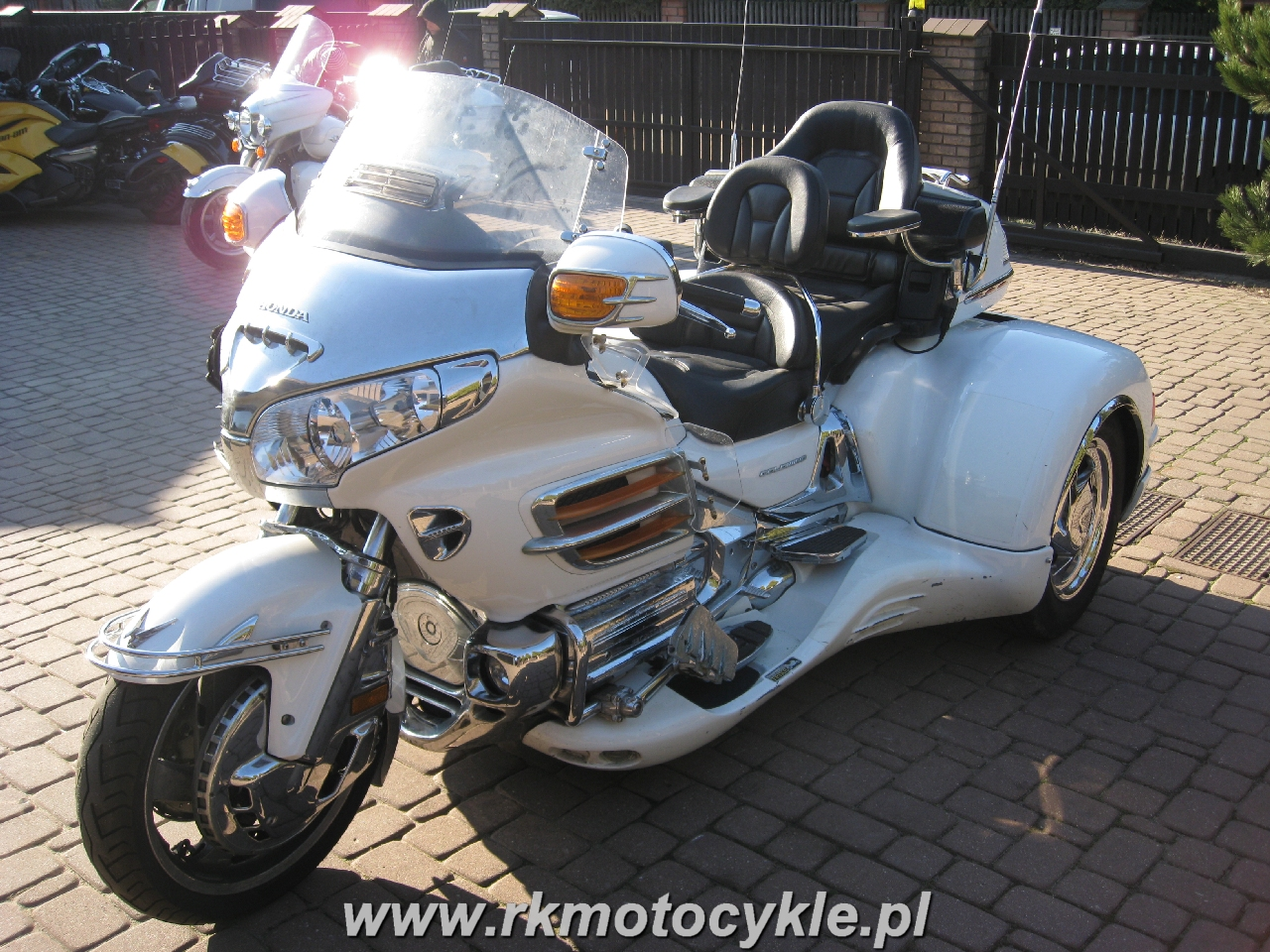 RK MOTOCYKLE - HONDA GL1800 GOLDWING TRIKE NAVIGATION ABS ...