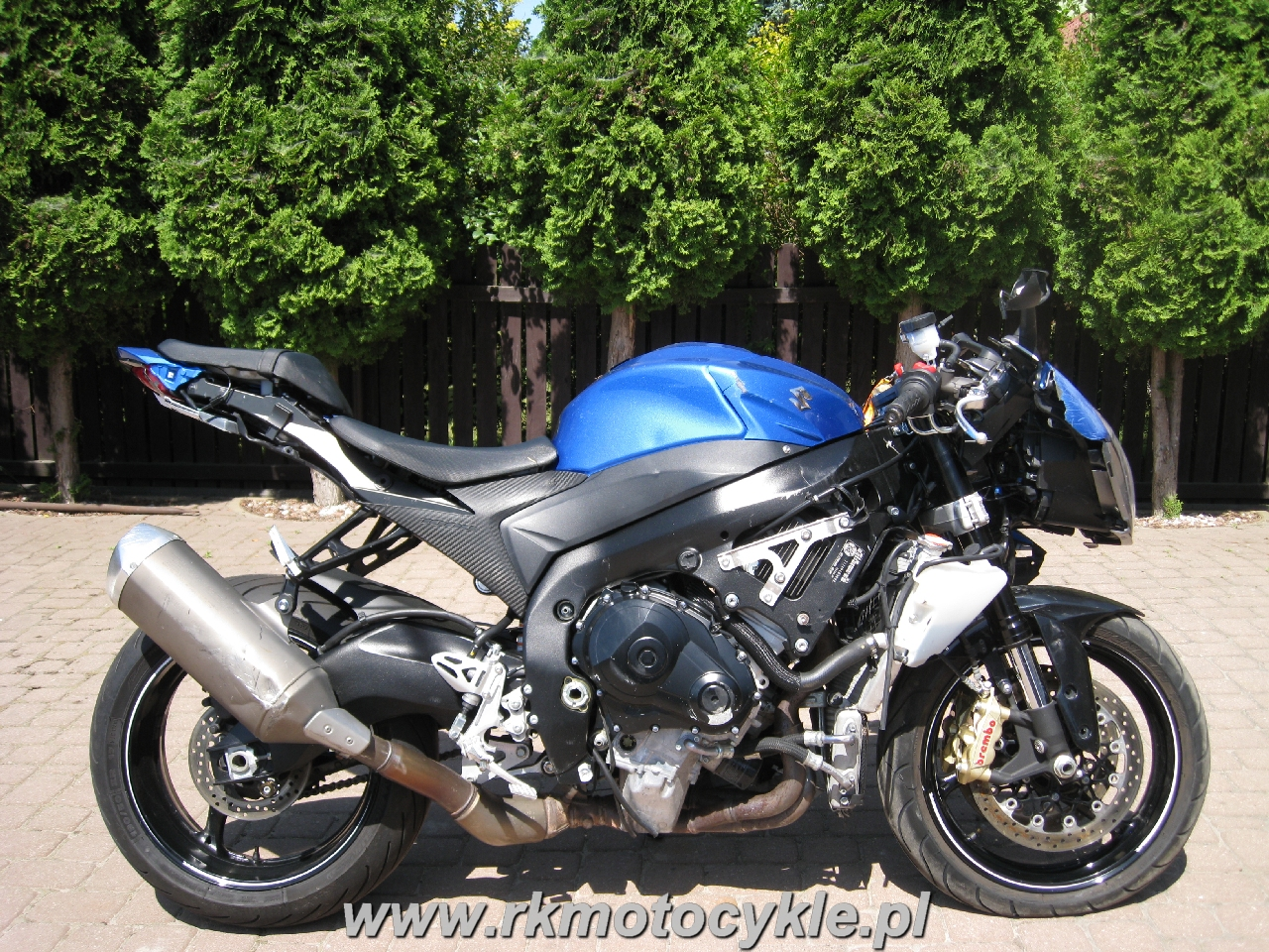 Rk Motocykle Suzuki Gsxr 1000 L4 Gsx R 1000 K9 L0 L1 L2
