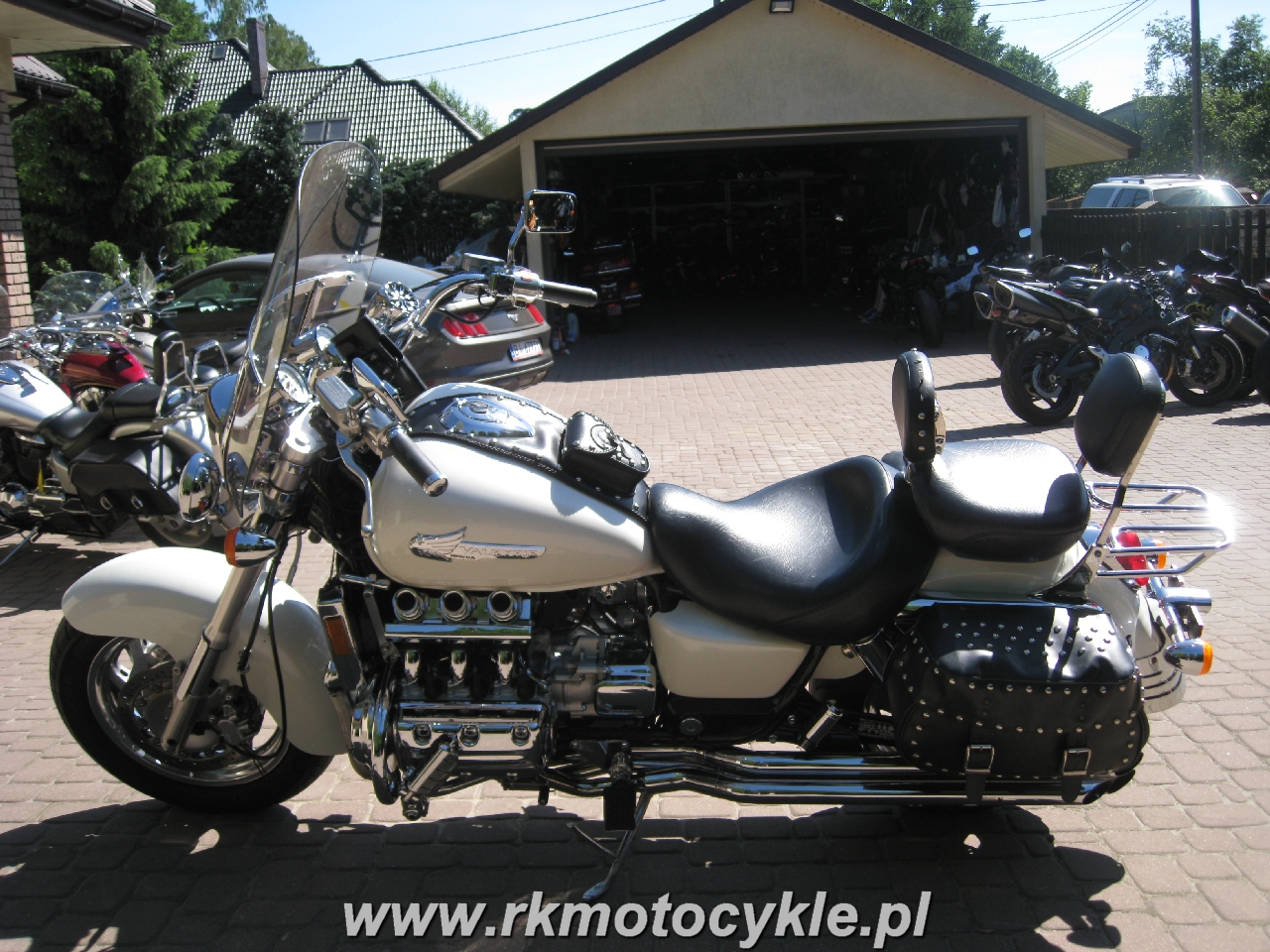Rk Motocykle Honda Gl1500 Valkyrie F6c Gl 1500
