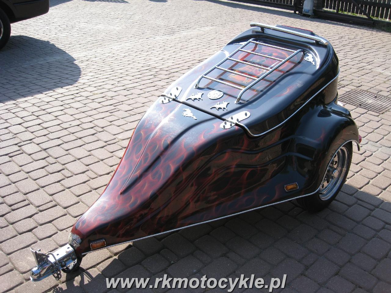 Rk Motocykle Przyczepka Motocyklowa Aero Minis